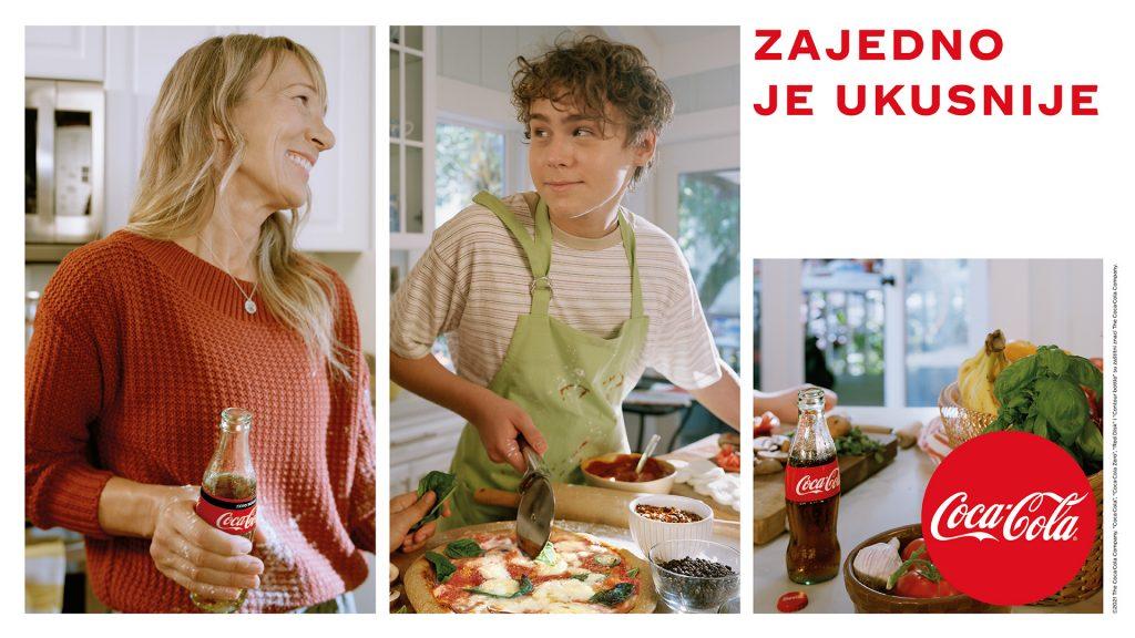 Ove godine Coca-Cola nas inspiriše da pokrenemo sva naša čula, probudimo maštu i uživamo u svim čarima gastronomije, ali i po prvi put bira kulinarskog influensera